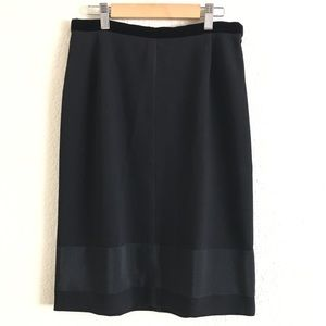 PRADA wool and nylon skirt